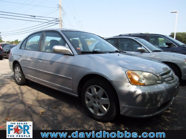 Pre-Owned 2002 Honda Civic EX
