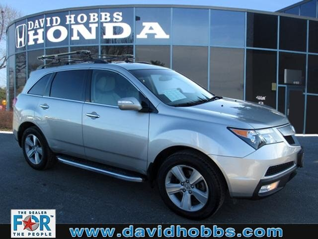 Pre-Owned 2012 Acura MDX 3.7L Technology Pkg w/Entertainment Pkg