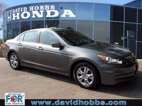 Pre-Owned 2012 Honda Accord 2.4 SE