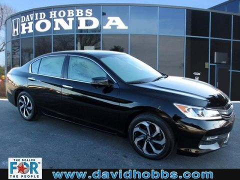 Certified Pre-Owned 2016 Honda Accord EX-L V-6