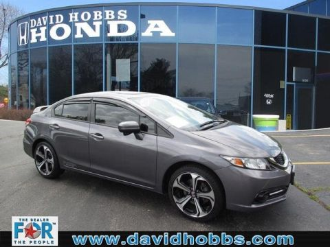 Certified Pre-Owned 2014 Honda Civic Si w/Summer Tires