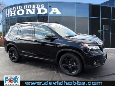 New 2019 Honda Passport Elite With Navigation & AWD