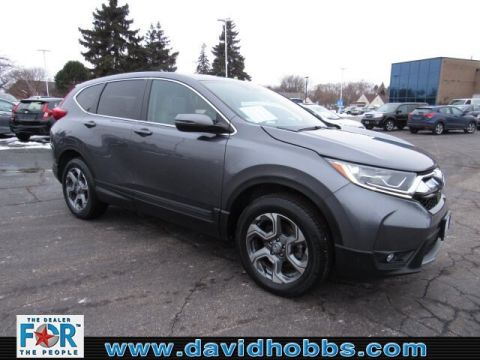 Certified Pre-Owned 2017 Honda CR-V EX-L Navi